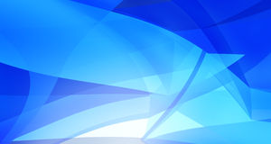 Abstract Blue Clean Background with copyspace Stock Image