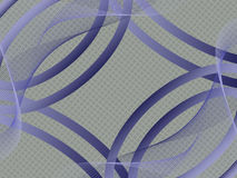 Abstract blue color background. Vector illustration from lines and curves Stock Photo