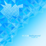 Abstract blue color background with place for your text Royalty Free Stock Photos