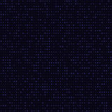 Abstract blue color neon dots, dotted technology background. Glowing particles, led light pattern, futuristic texture Stock Images