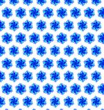 Abstract blue color pattern bokeh wallpaper Royalty Free Stock Image