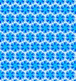 Abstract blue color pattern bokeh wallpaper Stock Image