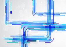 Abstract blue colorful lines. Abstract blue colorful lines with place for your text royalty free illustration