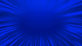Abstract blue comic radial speed line background, cartoon background