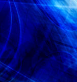 Abstract blue composition Royalty Free Stock Image