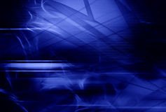 Abstract blue composition. Abstract blue fantastic composition, illustration Royalty Free Stock Image