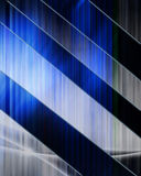 Abstract blue composition Royalty Free Stock Images