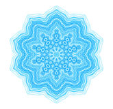 Abstract blue concentric pattern Royalty Free Stock Images