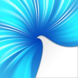 Abstract blue cover. Royalty Free Stock Images