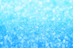 Abstract blue crystal texture background Stock Image