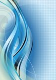 Abstract Blue Curve Stock Photos