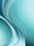 Abstract Blue Curve Background Royalty Free Stock Photo