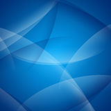 Abstract Blue Curved Background Royalty Free Stock Photos