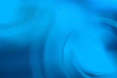 Abstract blue curves Stock Photo