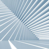 Abstract blue 3d background with staircase. Abstract blue square 3d interior background with staircase Stock Photography