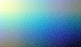 Abstract blue 2D mosaic triangle background Royalty Free Stock Image