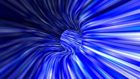 Abstract blue 3d tunnel background Royalty Free Stock Photo