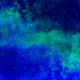 Abstract blue dark distressed background Stock Photography