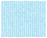 Abstract blue deformed squares Royalty Free Stock Photo