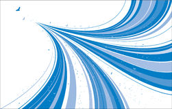 Abstract Blue Design Stock Photography