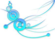 Abstract Blue design Stock Photos