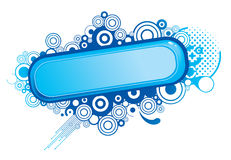 Abstract blue design Royalty Free Stock Photo