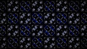 Abstract blue diamond exclusive shine wallpapers. Abstract blue diamond exclusive silver white shine background Stock Image
