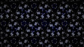 Abstract blue diamond exclusive shine wallpapers. Abstract blue diamond exclusive silver white shine background Stock Photo