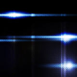 Abstract blue digital background, the flash on Stock Photography