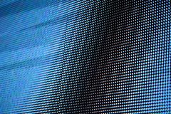 Abstract blue digital monitor stock photo