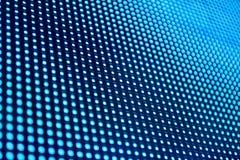 Abstract blue digital monitor stock image