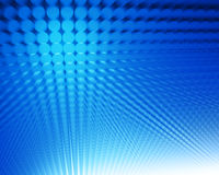 Abstract blue dots Stock Images