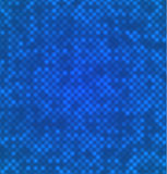 Abstract blue dots background Stock Images