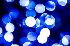 Abstract Blue. Dots, light dot, blurred, blue color stock images