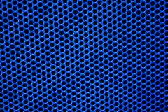 Abstract blue dots pattern background Royalty Free Stock Photography