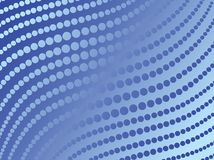 Abstract blue dots,vector Stock Photography