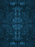Abstract Blue Electric Circuit Future Technology Royalty Free Stock Images