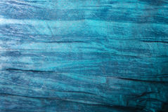 Abstract blue fabric. Cobalt blue fabric with lots of wrinkles and texture Stock Images