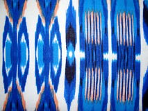 Abstract blue figure royalty free stock photography