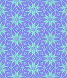 Abstract blue floral pattern, Petal tiled texture background, Seamless illustration. Abstract blue floral pattern, Petal tile texture background, Seamless Royalty Free Stock Images