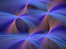 Abstract Blue Fountains Stock Images