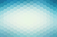 Abstract blue geometric background.  Stock Image