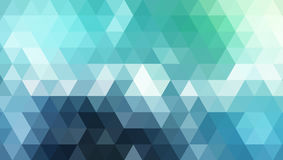 Abstract blue geometric background Royalty Free Stock Photo