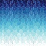 Abstract blue geometric background. Abstract blue geometric on background Stock Illustration