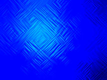 Abstract blue geometric background Stock Photography