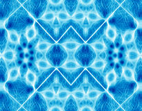 Astral energy. Abstract blue fractal background texture Royalty Free Stock Image