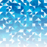 Abstract blue geometric background. Innovation Royalty Free Stock Photography