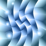 Abstract blue geometric background Stock Images