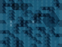 Abstract blue geometric background royalty free illustration