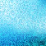 Abstract, blue geometric background. Stock Photo